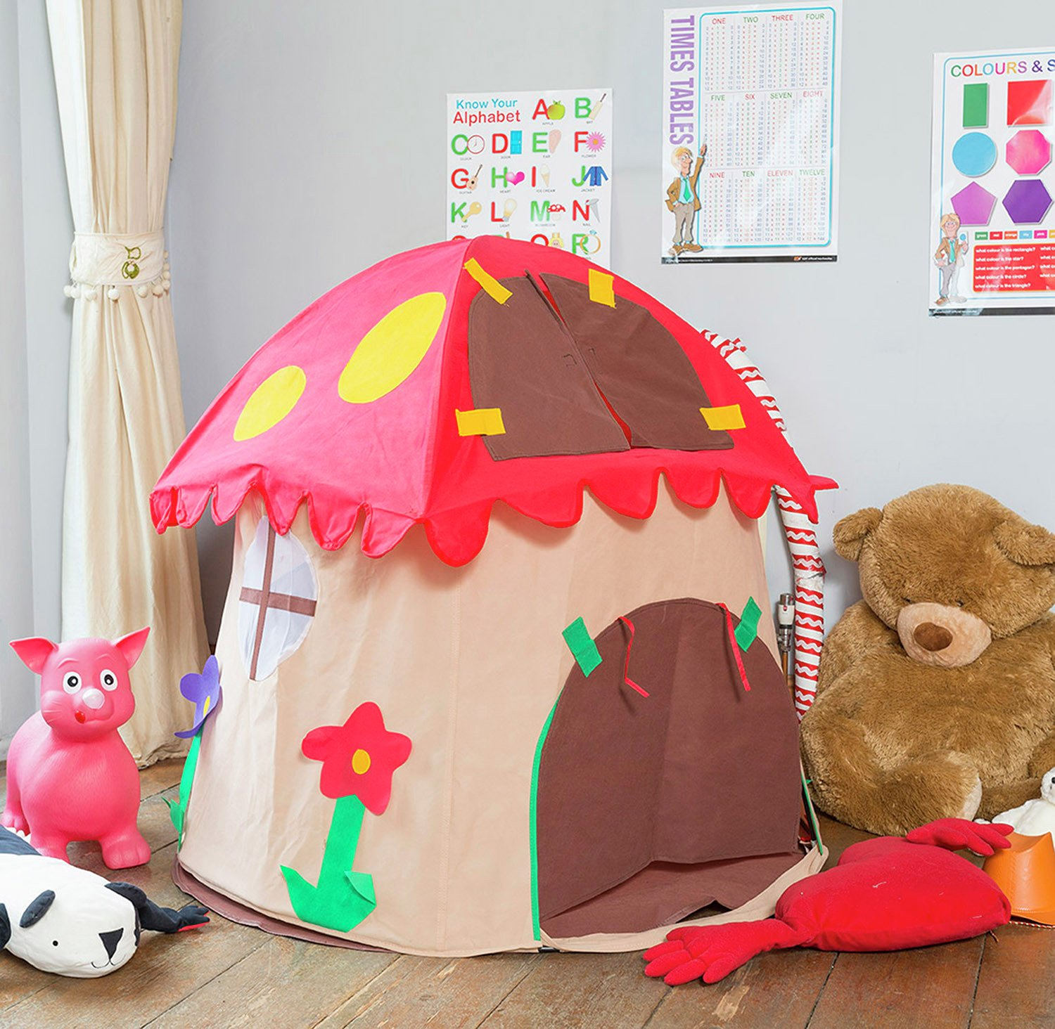 Image of Bazoongi - Special Edition Mushroom House Play Tent
