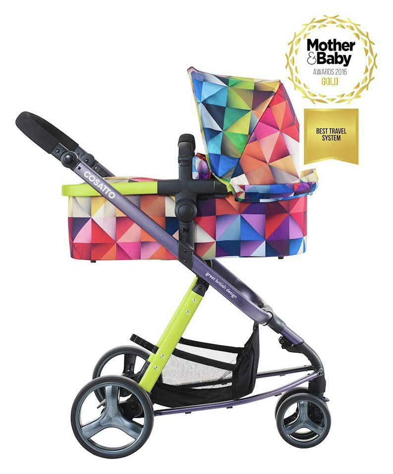 Image of Cosatto Giggle 2 Pram & Pushchair - Spectroluxe.