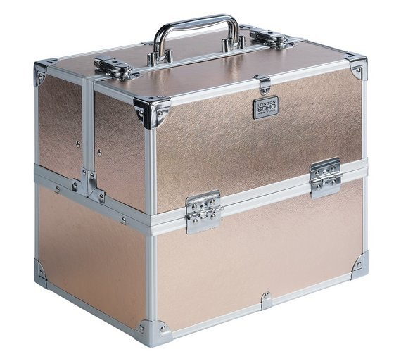 Sale On Soho Rose Gold Colour Vanity Case Soho Now