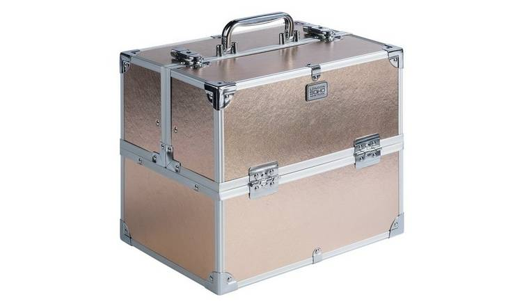383bee85f Buy SOHO Rose Gold Colour Vanity Case