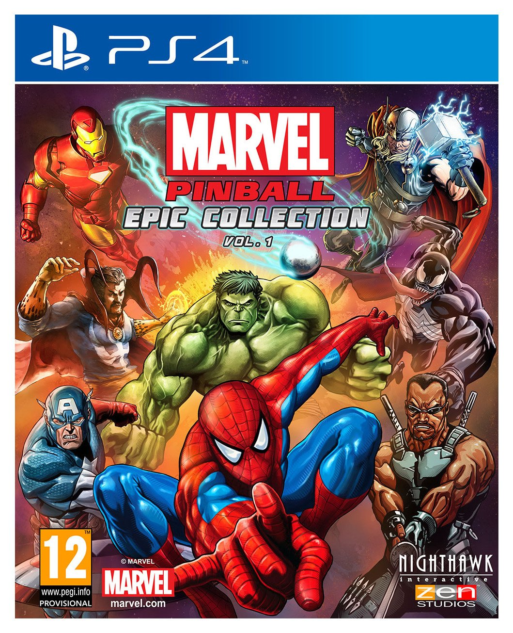 Marvel Marvel Pinball - PS4 Game.