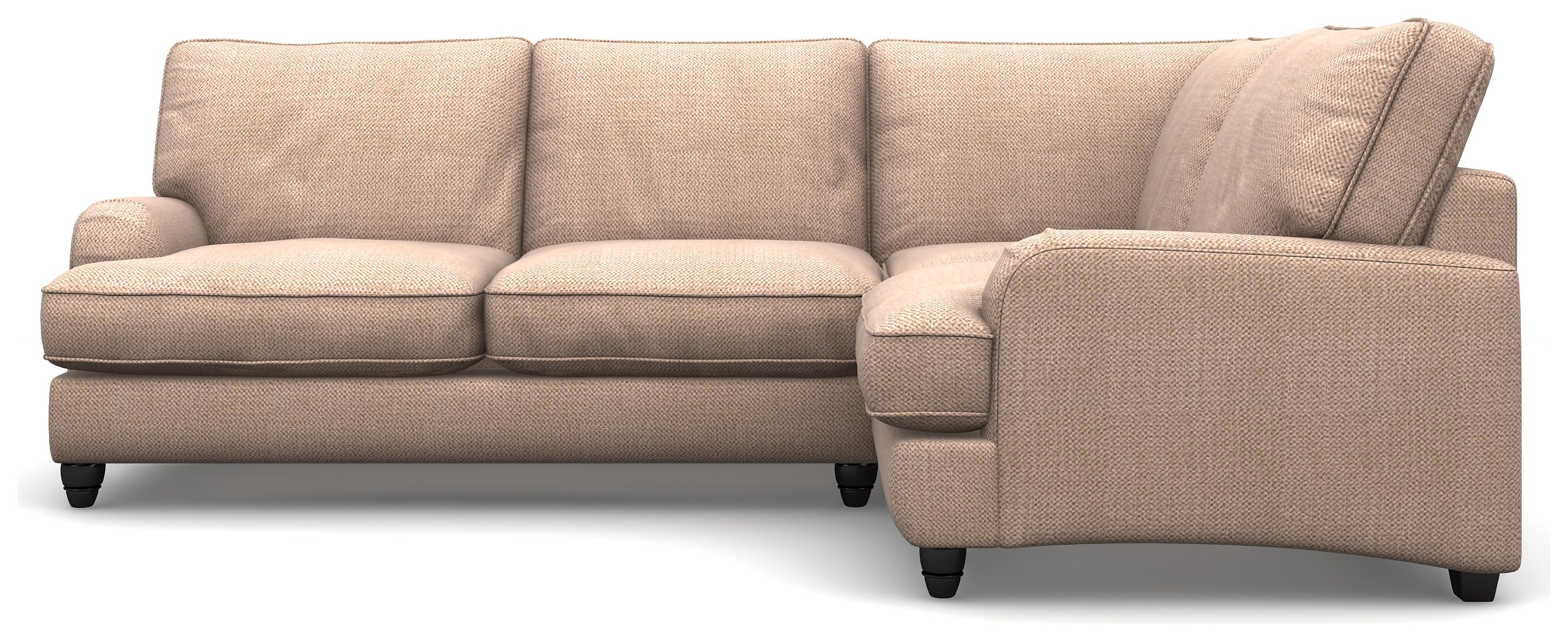 Create your own Heart of House Adeline Fabric Right Corner Sofa - Old Rose.