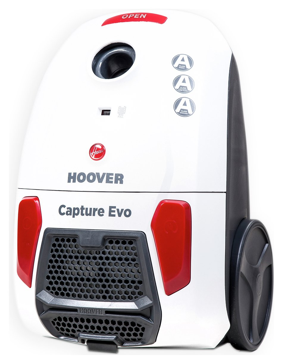 Image of Hoover - Capture Bagged Cylinder - Vacuum Cleaner
