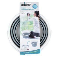 Beldray 10 Litre Collapsible Bucket - Grey.