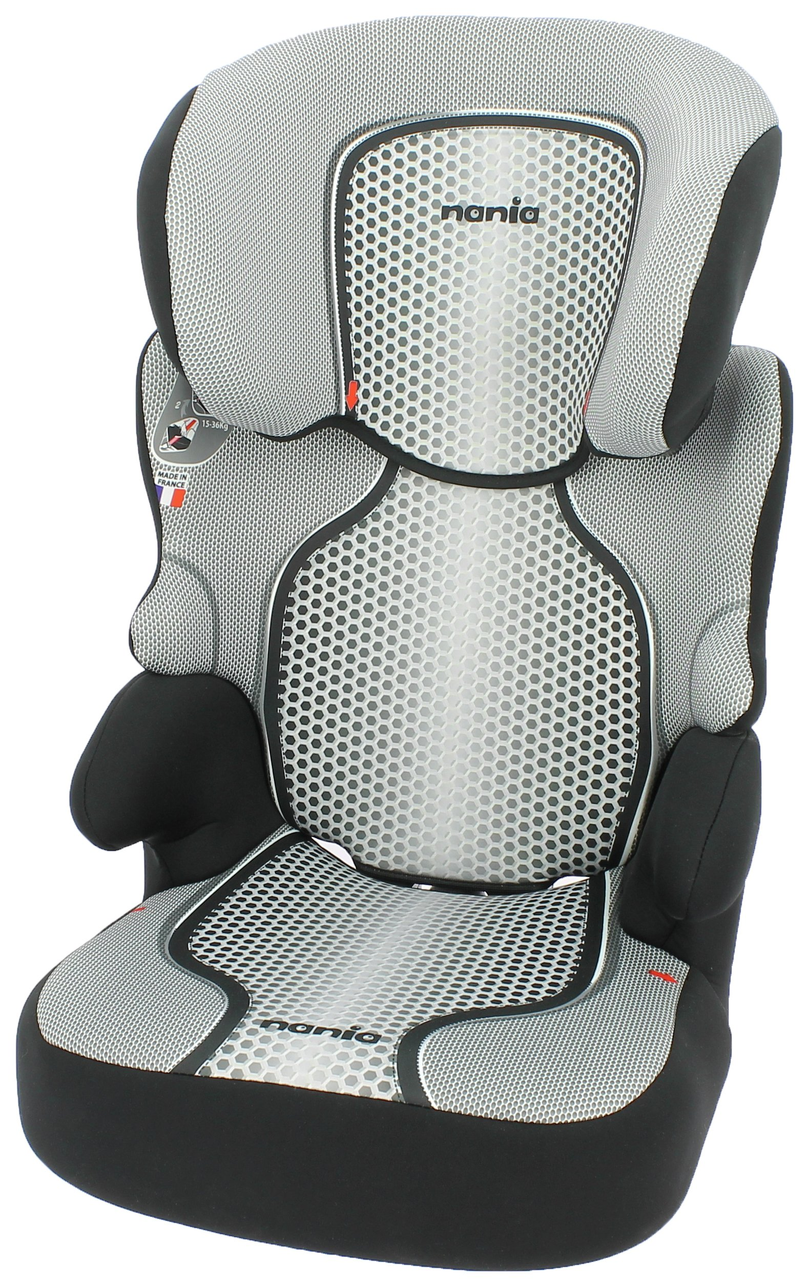 Nania Befix SP First Pop Group 2/3 Booster Car Seat - Black