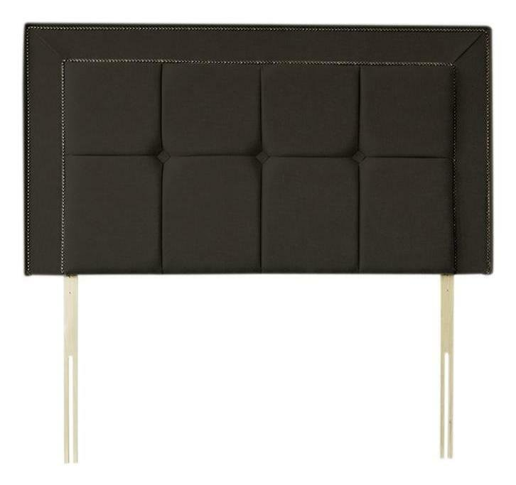 Silentnight Vincenza Single Headboard - Charcoal