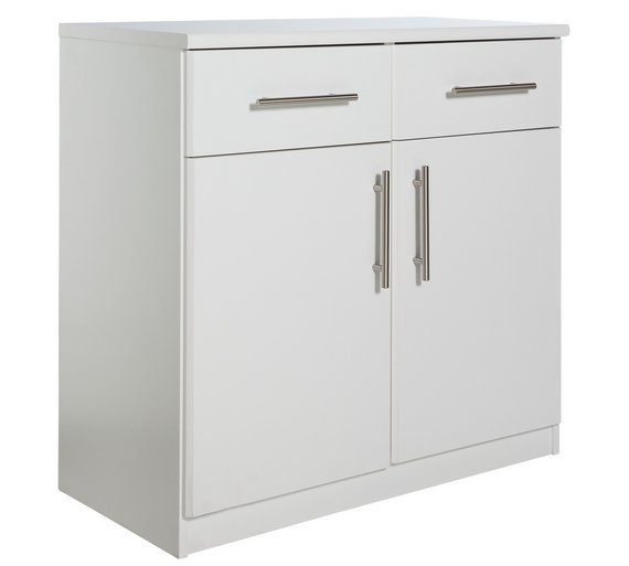Hamilton 2 Door 4 Drawer Sideboard Oak Effect At Argos Co Uk Cool White Gloss Living Room