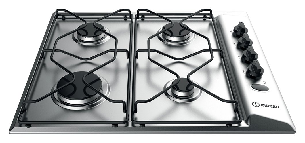 Indesit - PAA 642 IX/I WE - Gas Hob - Stainless Steel