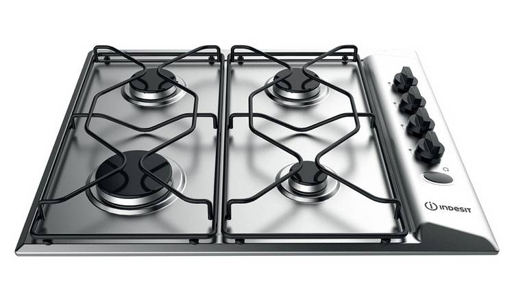 Indesit PAA 642 IX/I WE Gas Hob - Stainless Steel