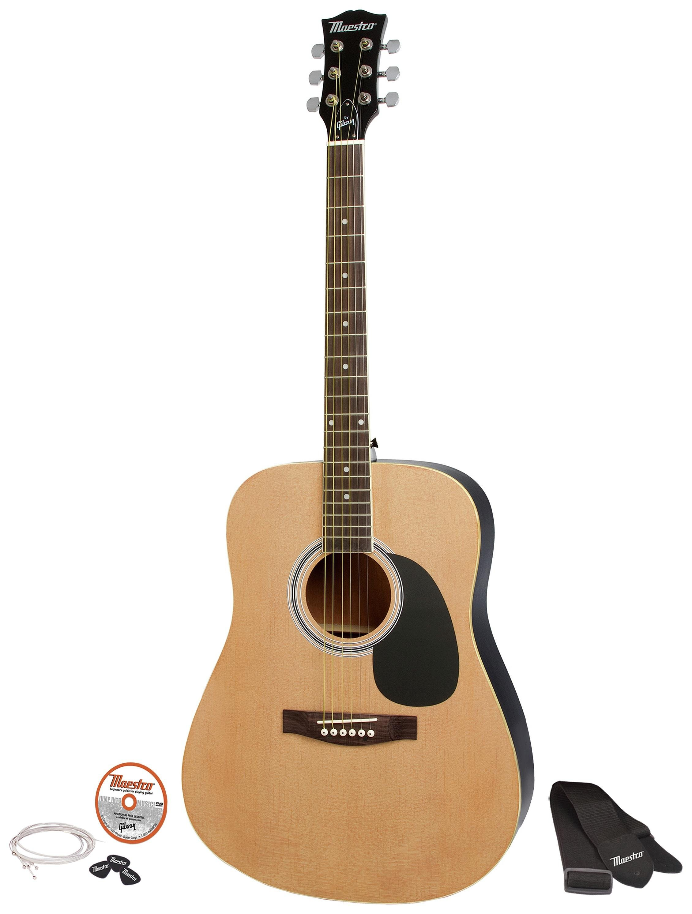 Image of Maestro by Gibson Full Size Acoustic Guitar