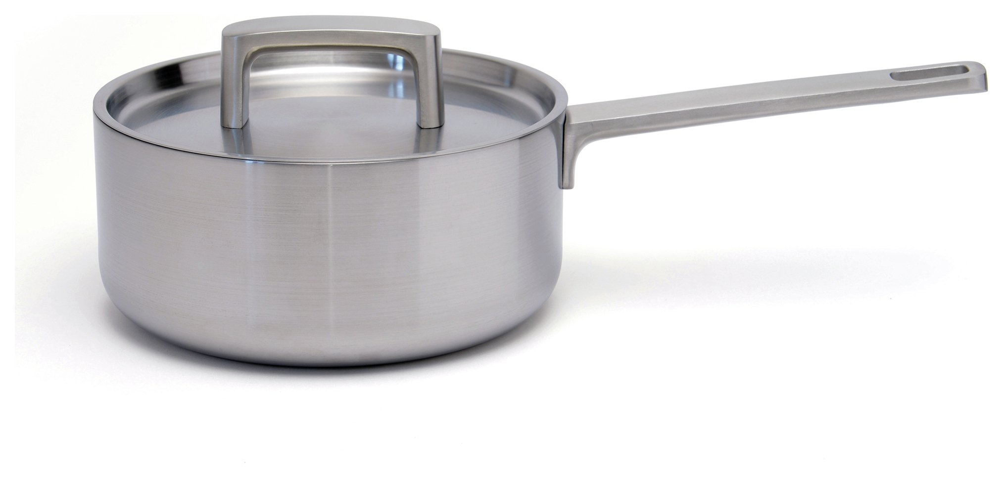 Image of BergHOFF 18cm Stainless Steel Saucepan with Lid.
