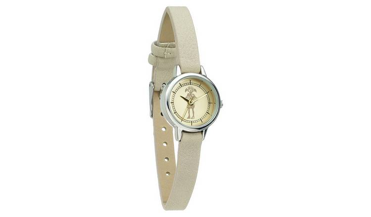 Harry Potter Dobby Beige Coloured Faux Leather Strap Watch
