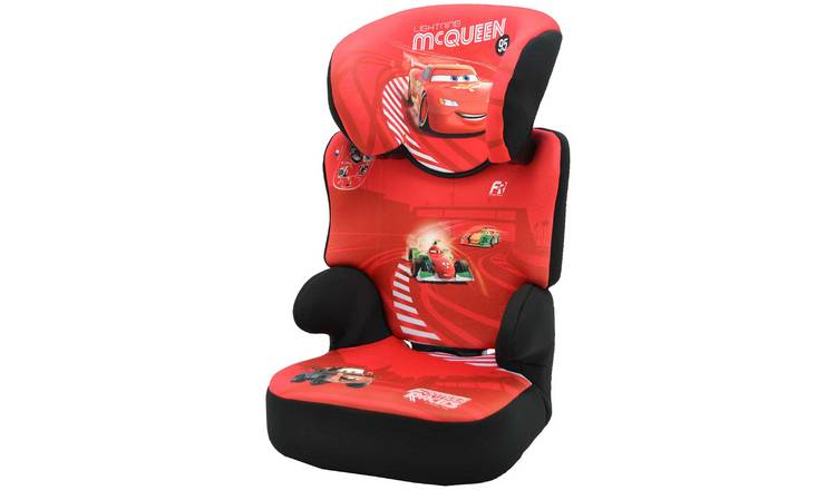 Disney Cars Befix SP Group 2/3 Booster Car Seat - Red
