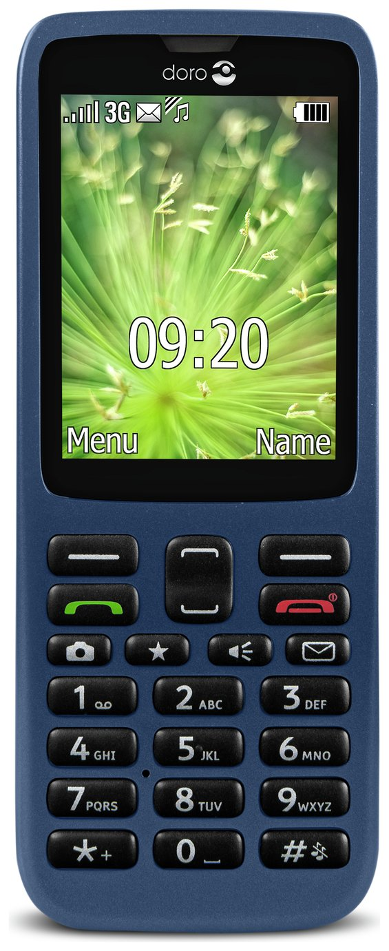 02 Doro 5516 Mobile Phone.
