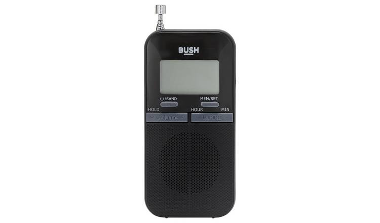 Bush Personal FM Radio - Black