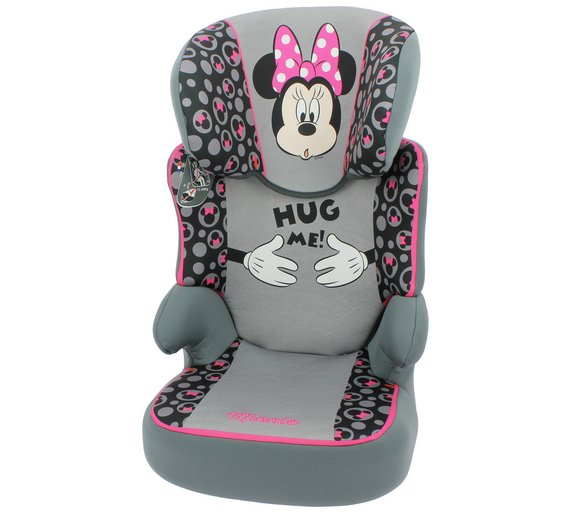 Buy TT Disney Minnie Mouse Groups 2 3 Pink Booster Car Seat