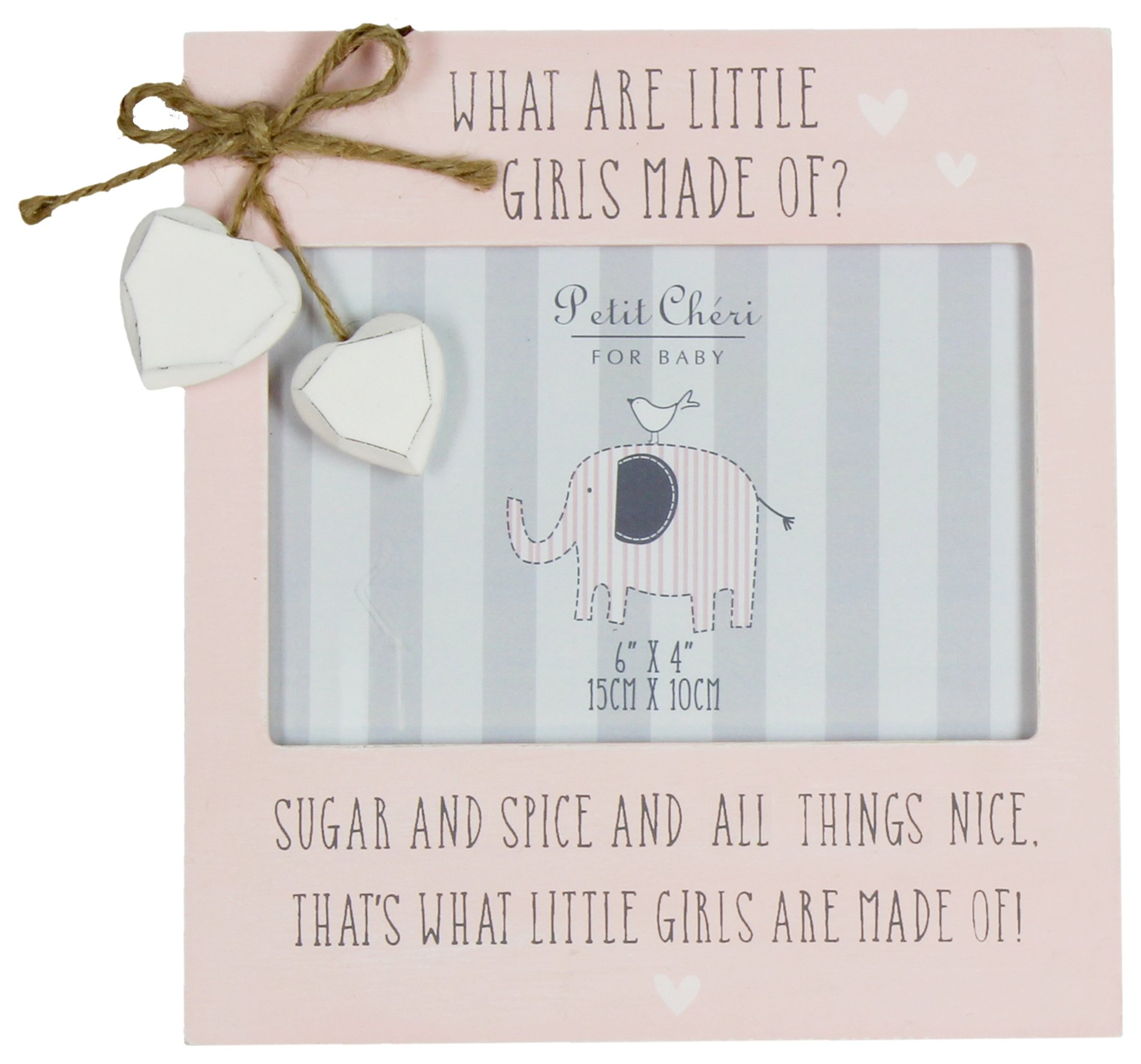 Image of Petit Cheri Girls' Frame with Little Hearts