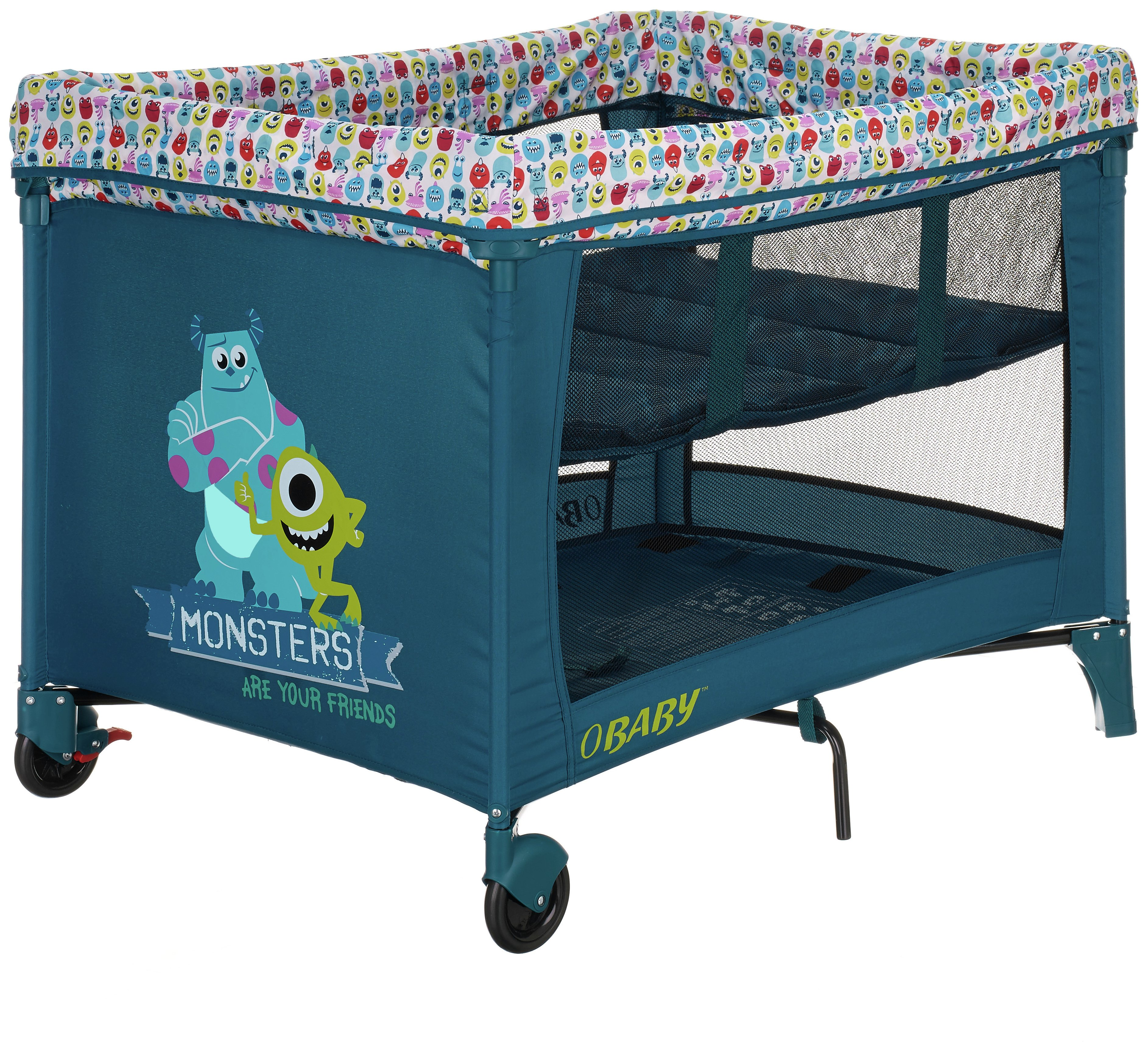 Image of Disney Travel Cot - Monsters Inc.