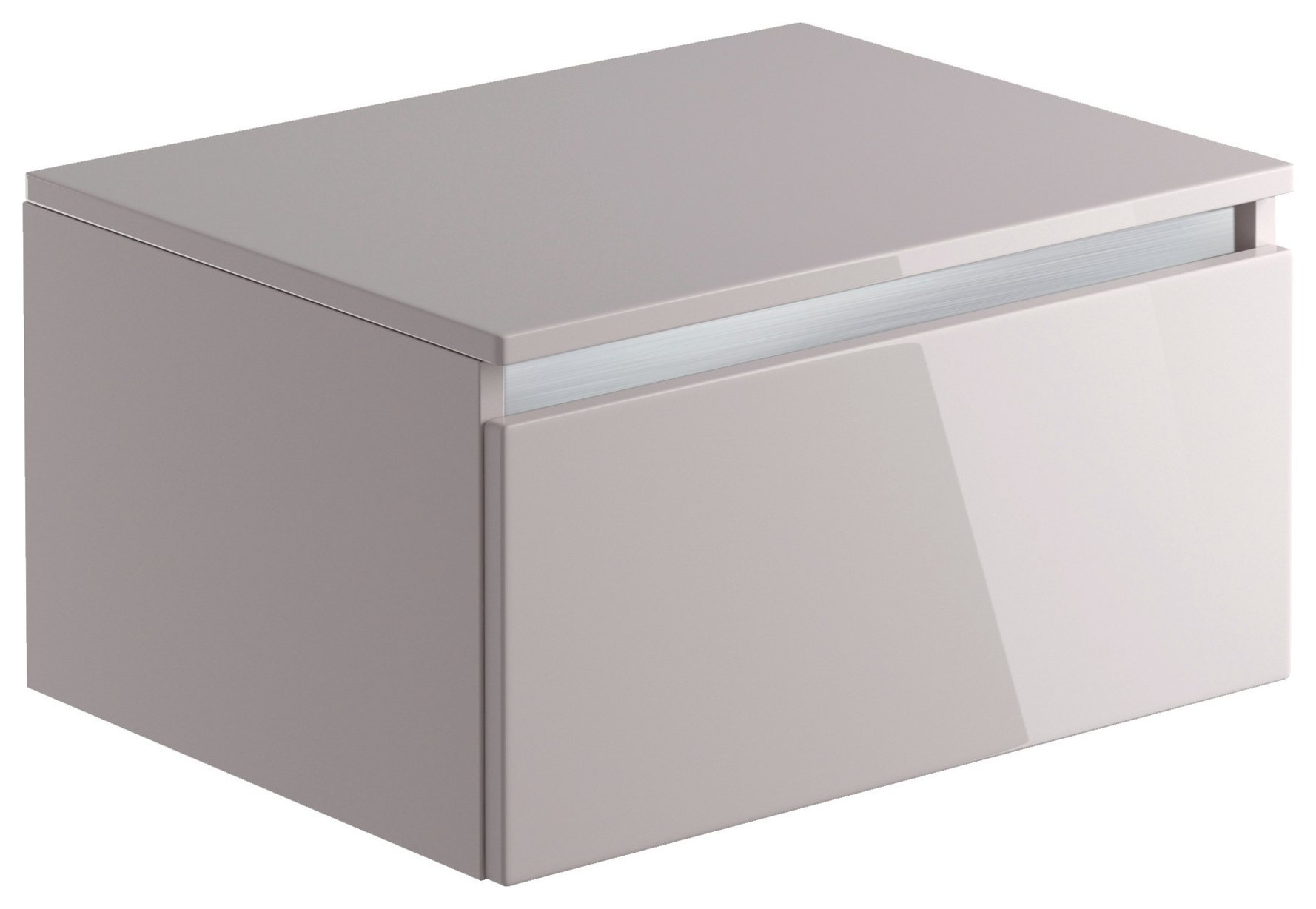Lavari 1 Drawer Unit - Cashmere - 90cm