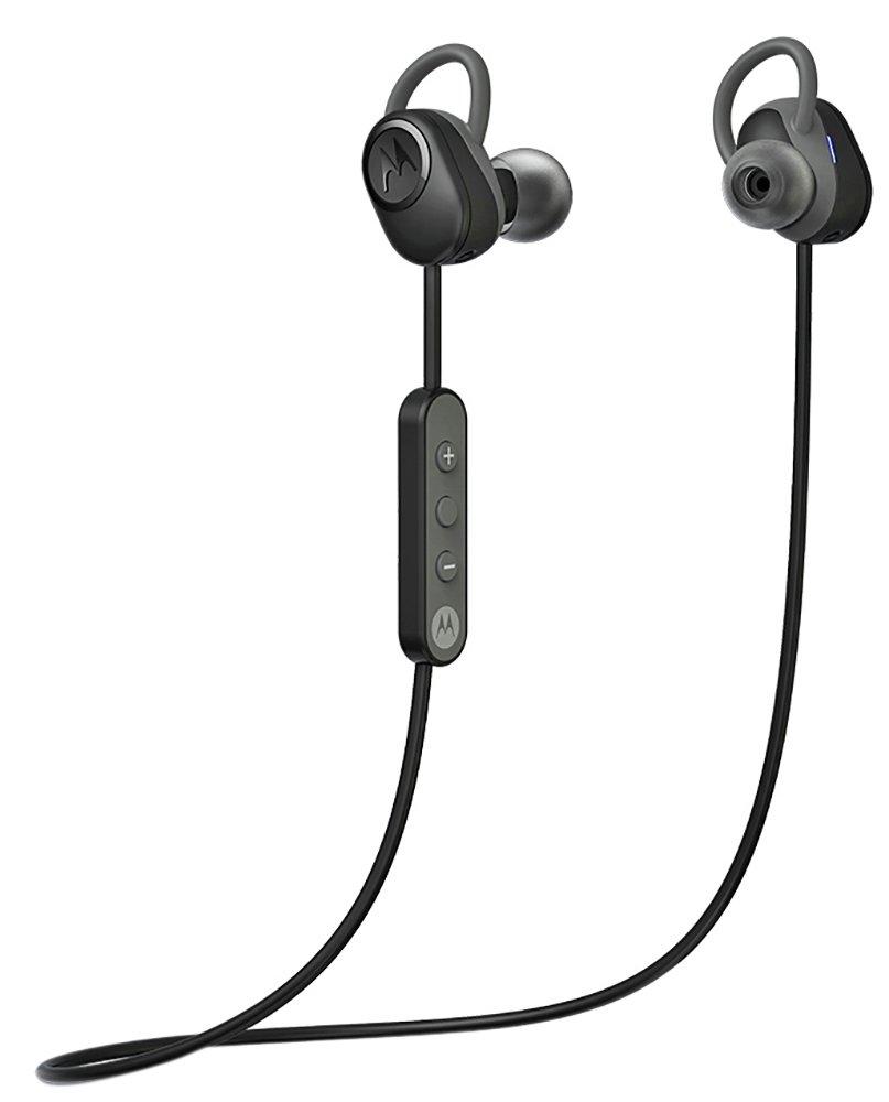 Motorola Verve Loop Sports Headphones - Black/Silver