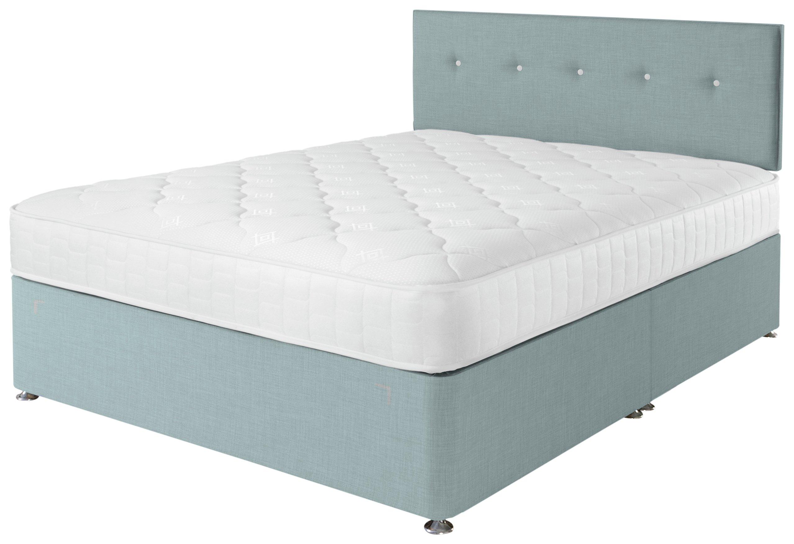 Airsprung Dalham Memory Blue Divan Bed - Double