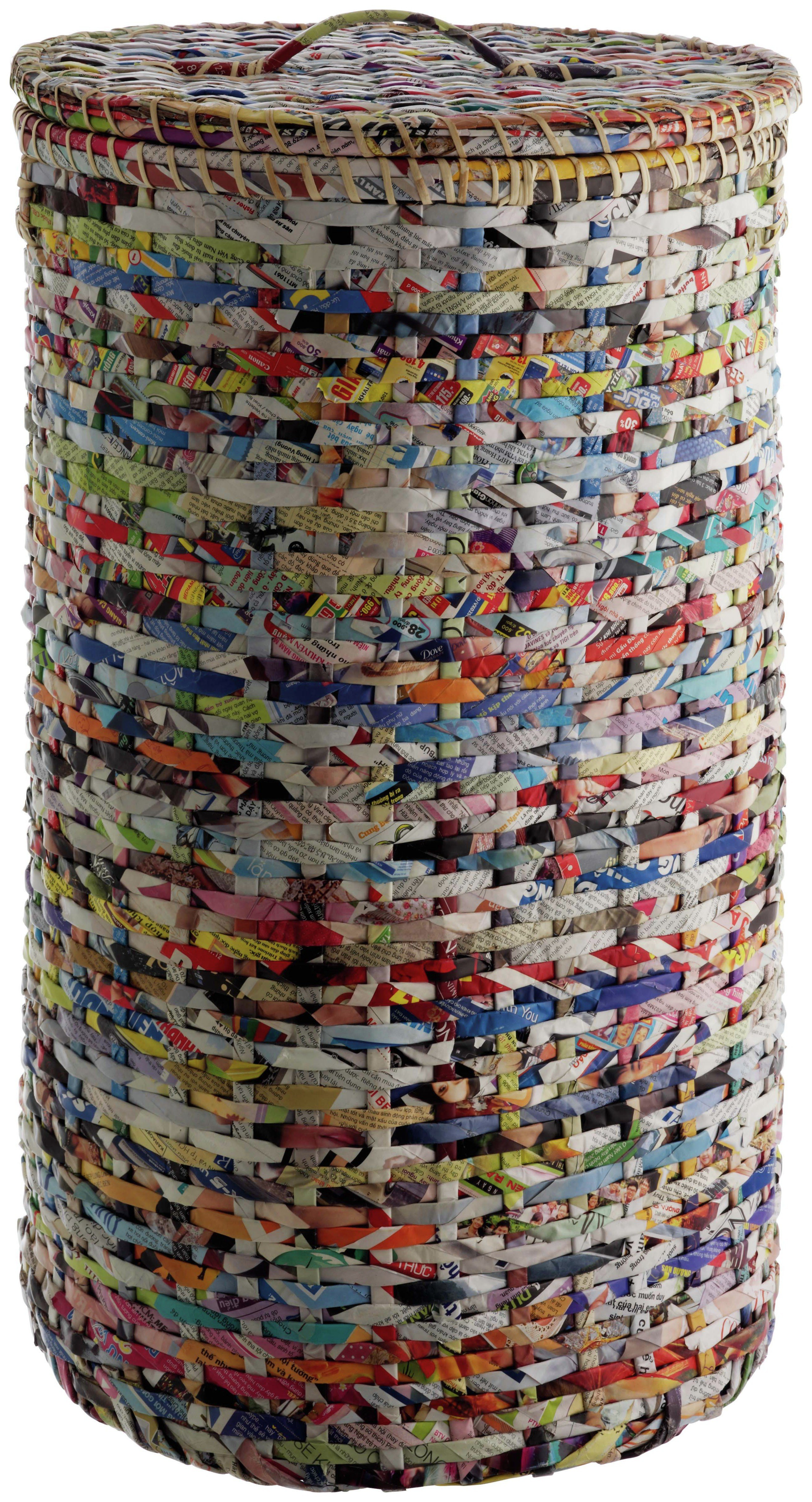 habitat cohen recycled magazine laundry basket
