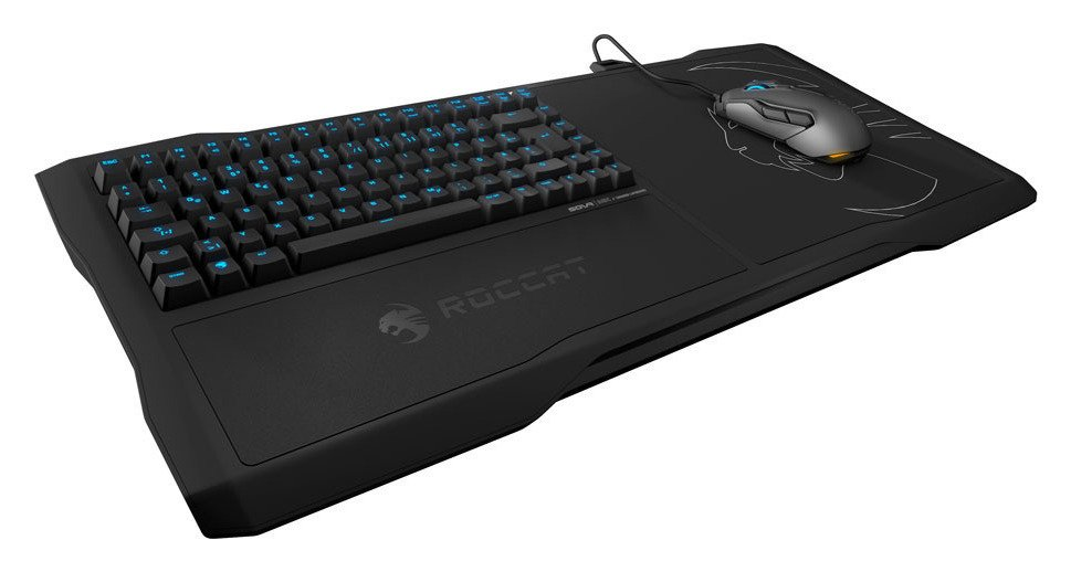 Roccat Sova Mechanical Gaming Lapboard.