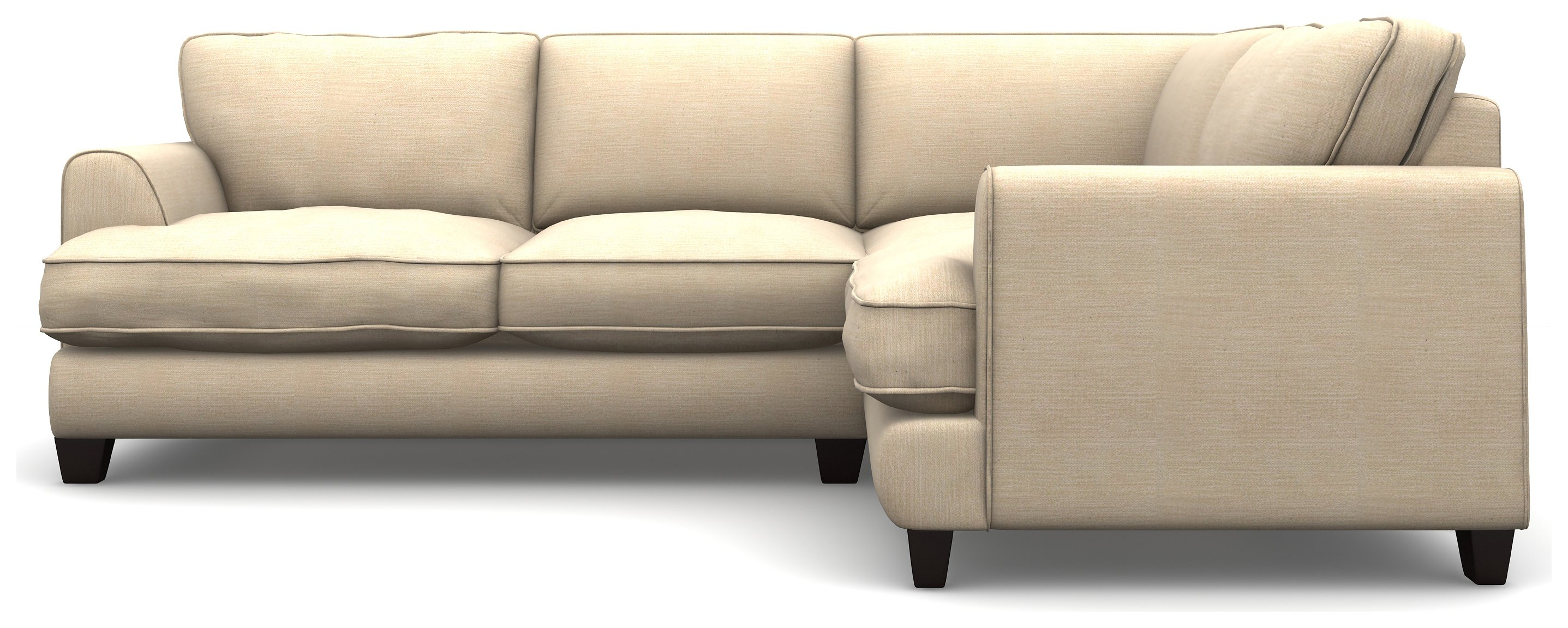 Argos Home Hampstead Right Corner Fabric Sofa - Beige
