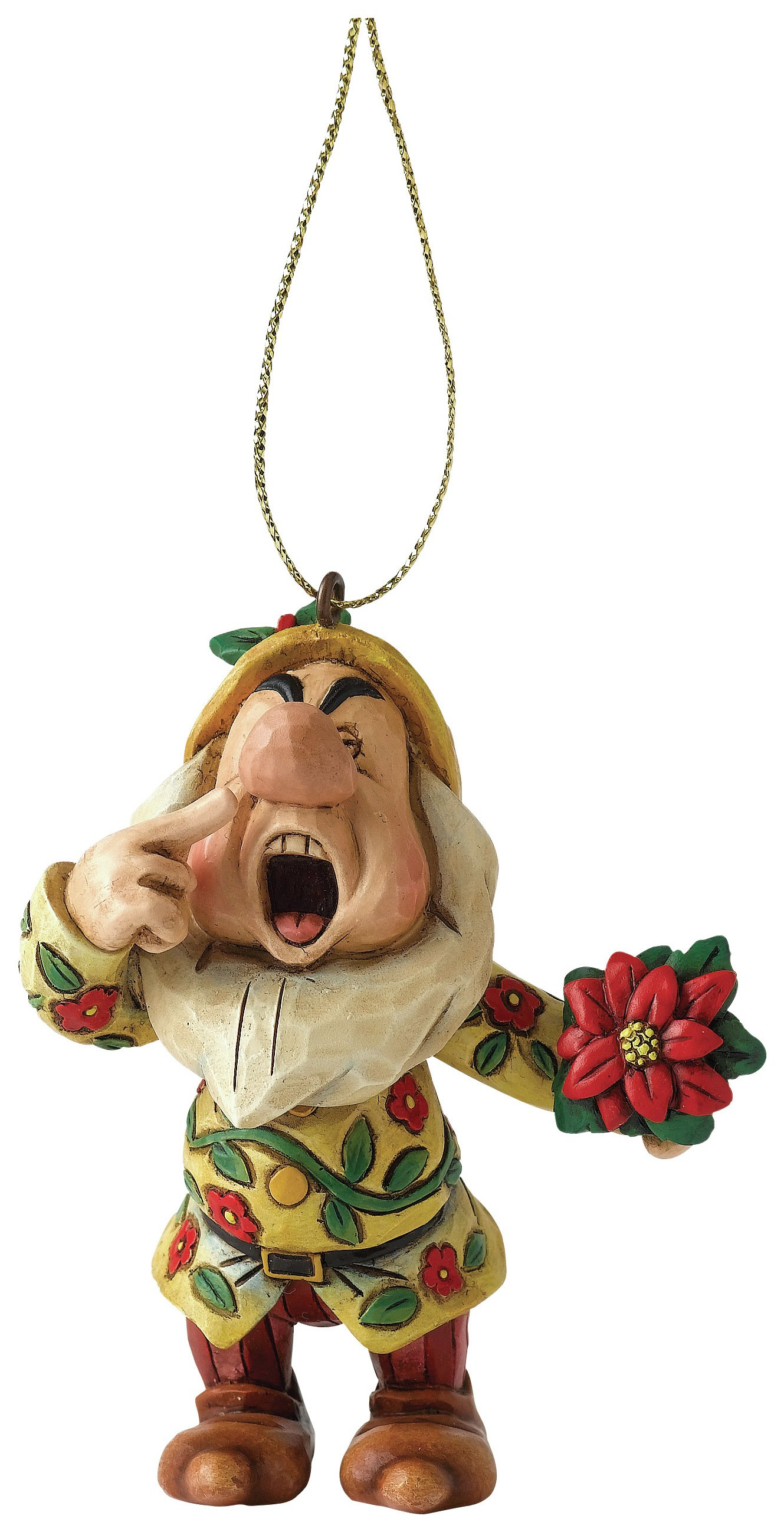 Image of Disney -Traditions Sneezy - Hanging Ornament