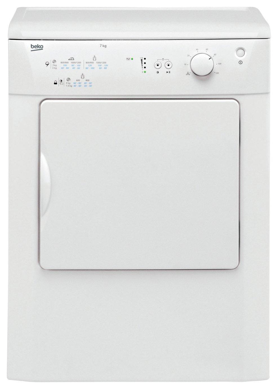 Beko - DRVT71W 7KG Vented - Tumble Dryer - White