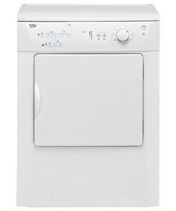 Beko DRVT71W 7KG Vented Tumble Dryer - White.