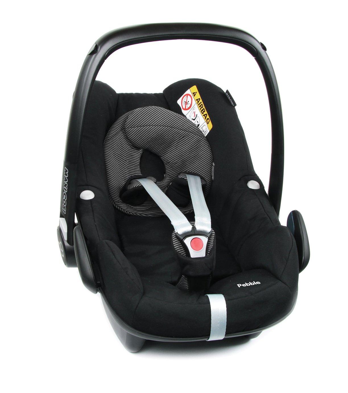 Maxi-Cosi Pebble Group 0+ Baby Car Seat - Black Raven