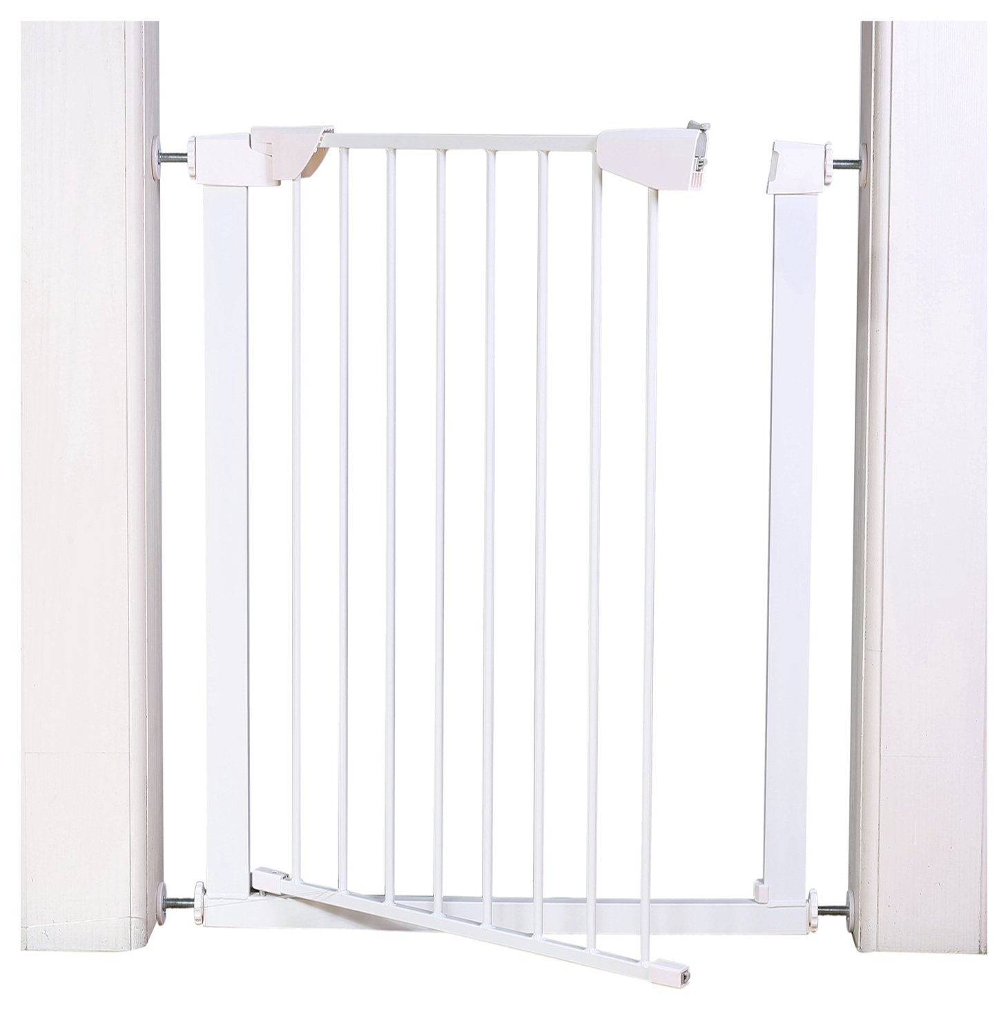 Image of Extra Tall Pressure Fit Pet Gate - White.