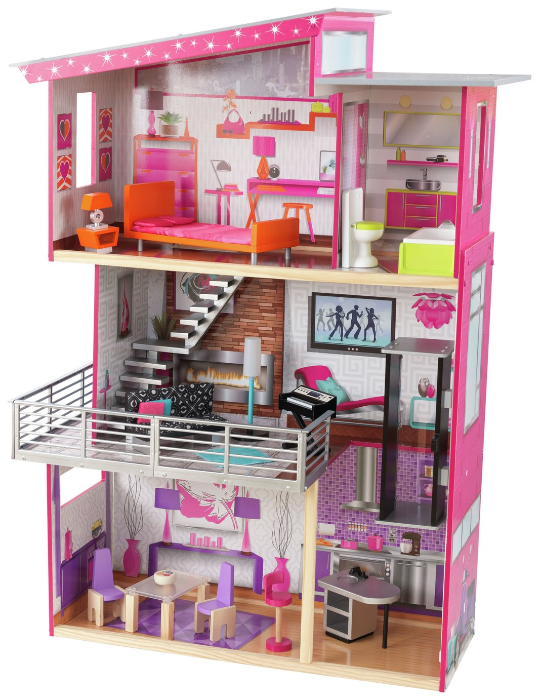 Dolls house at argos co uk your online shop for dolls houses dolls - Luxury Dolls House