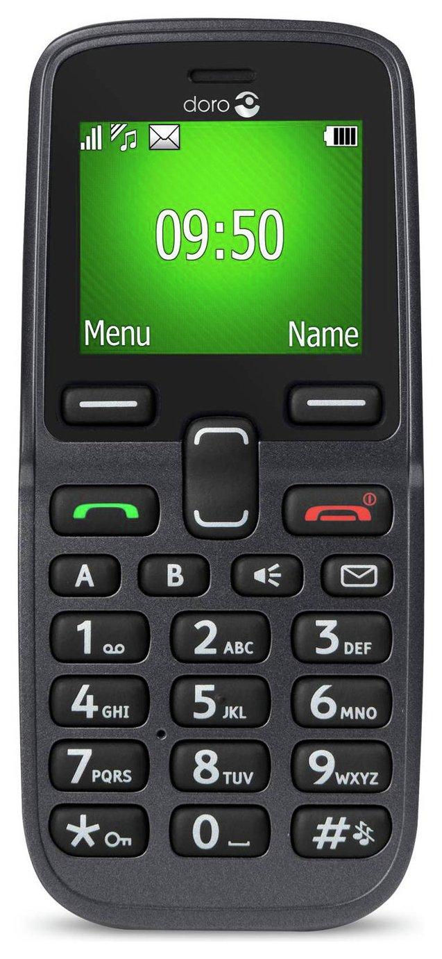 Image of EE Doro 5030 Mobile Phone - Black