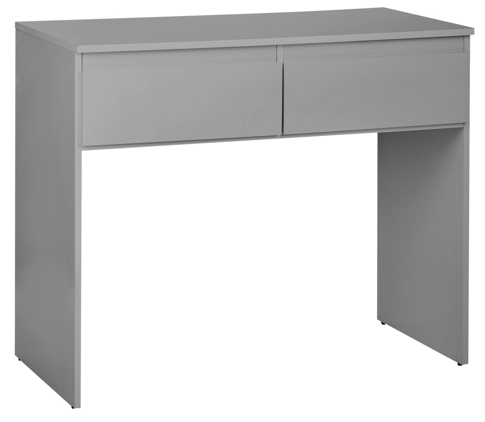 Sale On Hygena Larvik Dressing Table Grey Gloss Hygena