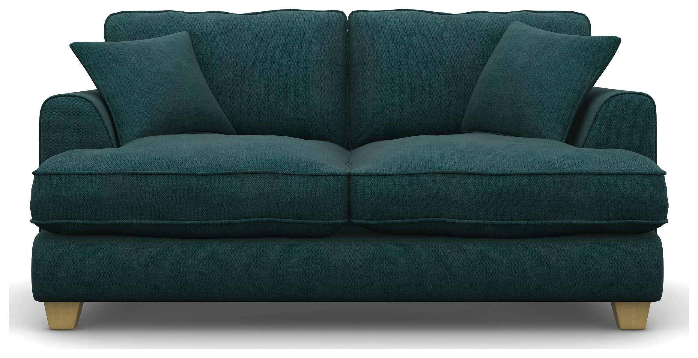 Heart of House Hampstead 2 Seater Fabric Sofa Bed - Natural