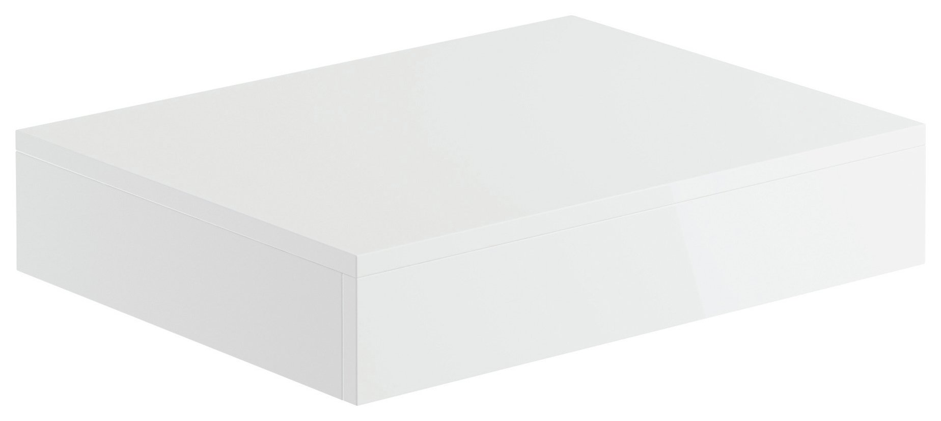 Lavari Vessel Vanity Shelf - White Gloss