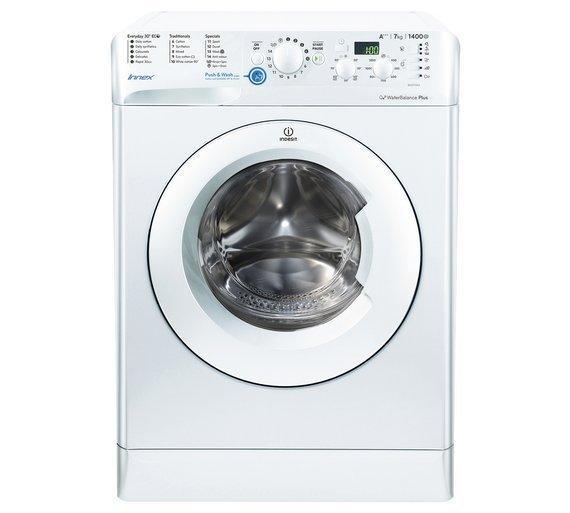 Image of Indesit BWD71453 7KG 1400 Spin Washing Machine - White.