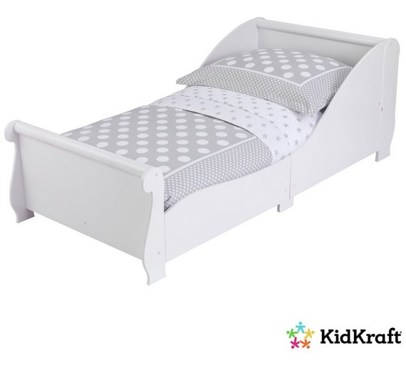 KidKraft Sleigh Cot Wooden Toddler Bed