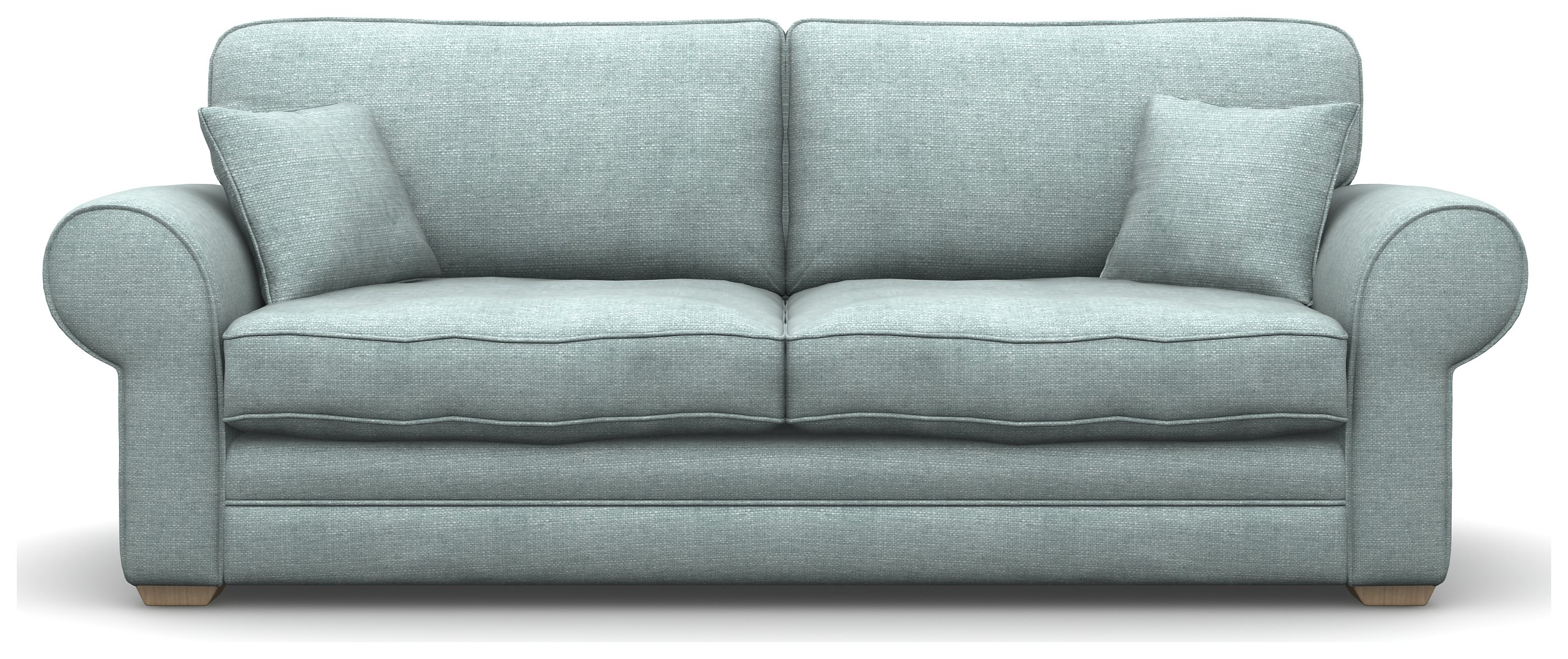 Heart of House Chedworth 4 Seater Fabric Sofa - Duck Egg