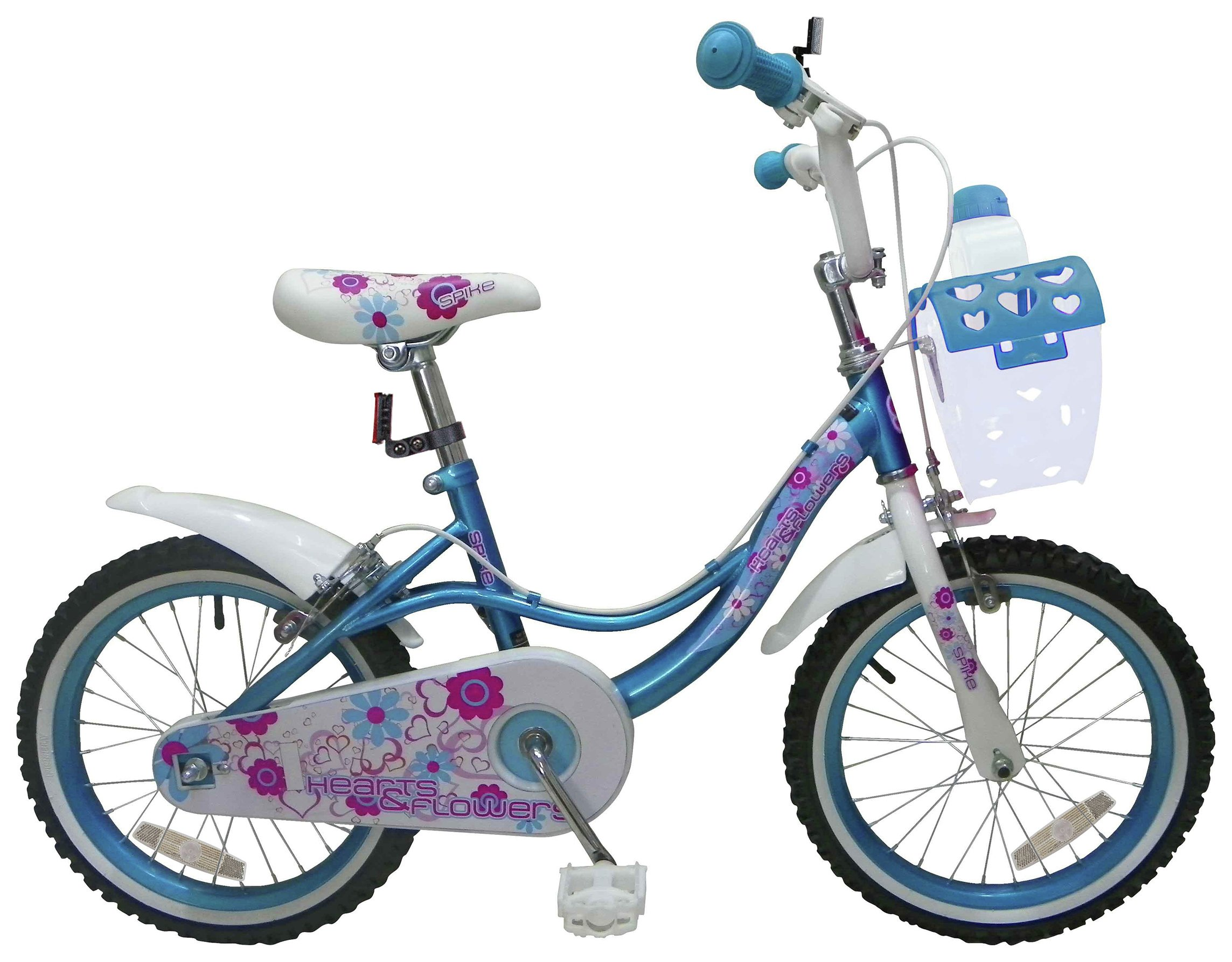 Spike 16 Inch Kids Bike with Basket