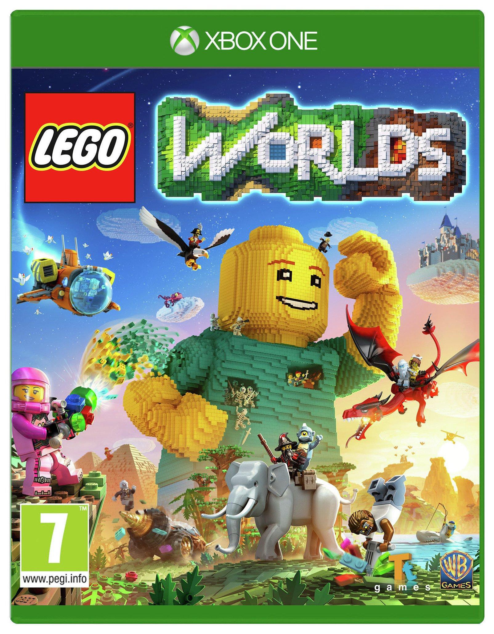 Lego Worlds Xbox One Game.