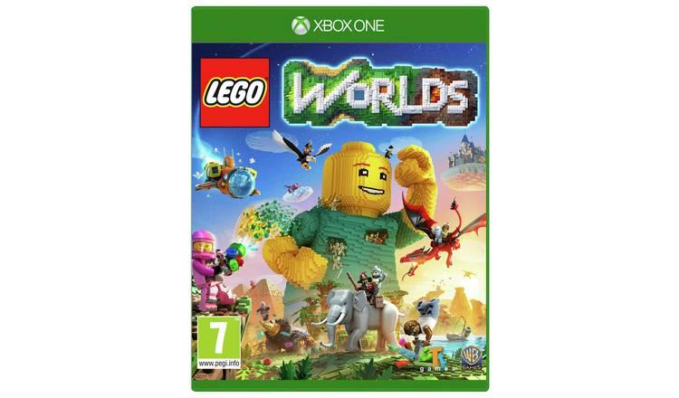 Lego Worlds Xbox One Game By Lego 6535562