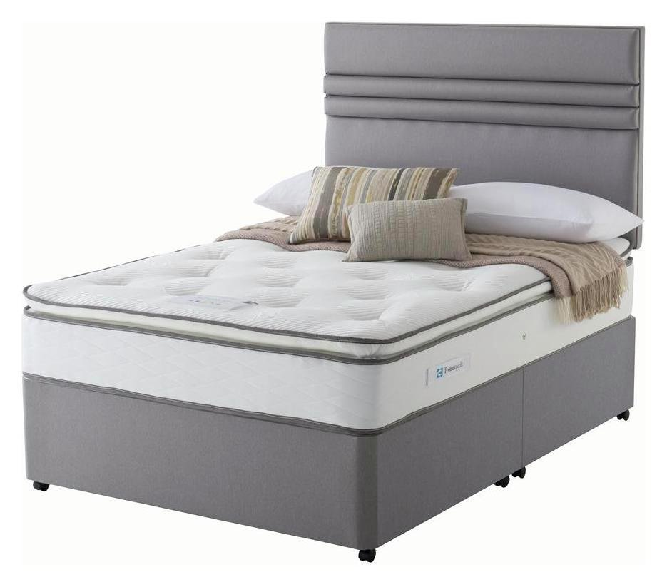 Sealy 1400 Pocket Memory Pillowtop Double Divan