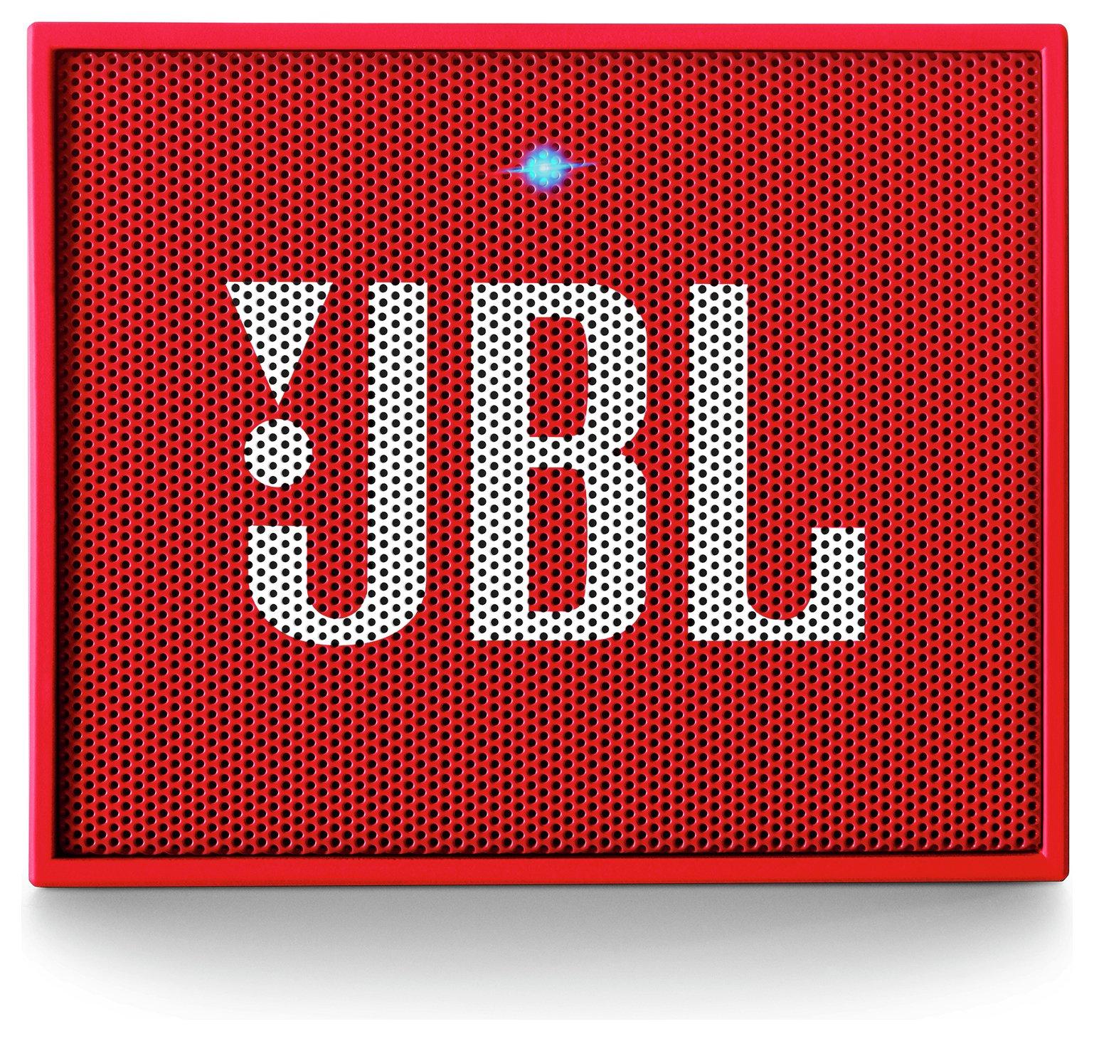 JBL JBL GO Portable Bluetooth Speaker - Red.