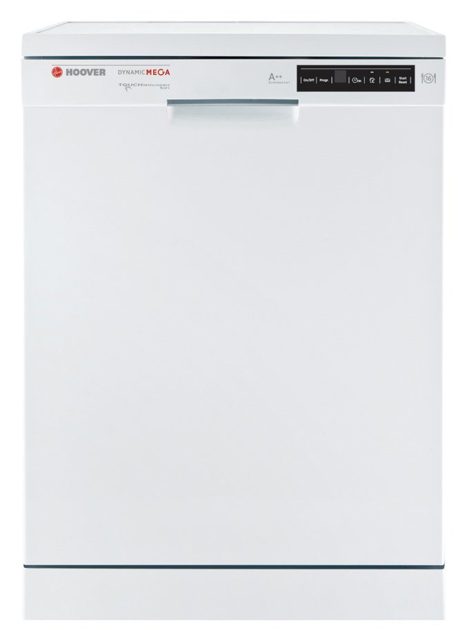 Image of Hoover - HDP2D62W Dishwasher - White