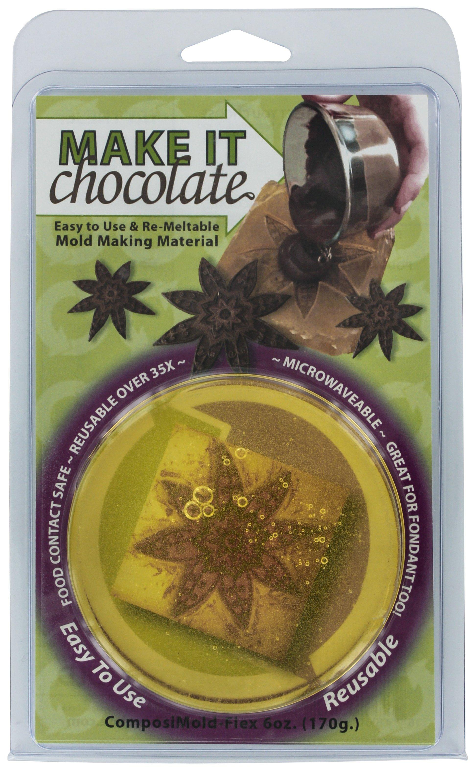 Image of Composi-Mold Make it Chocolate and Fondant Mold.