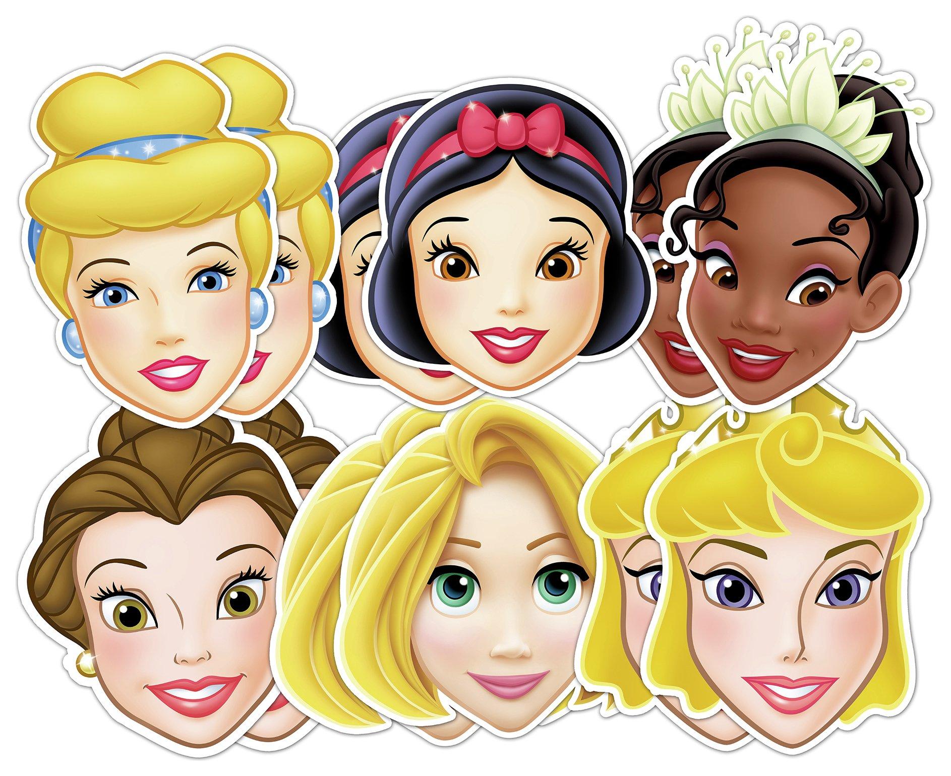 Image of Dream - Big Princess Masks - 12 Pack