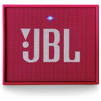 JBL GO Portable Bluetooth Speaker - Pink.